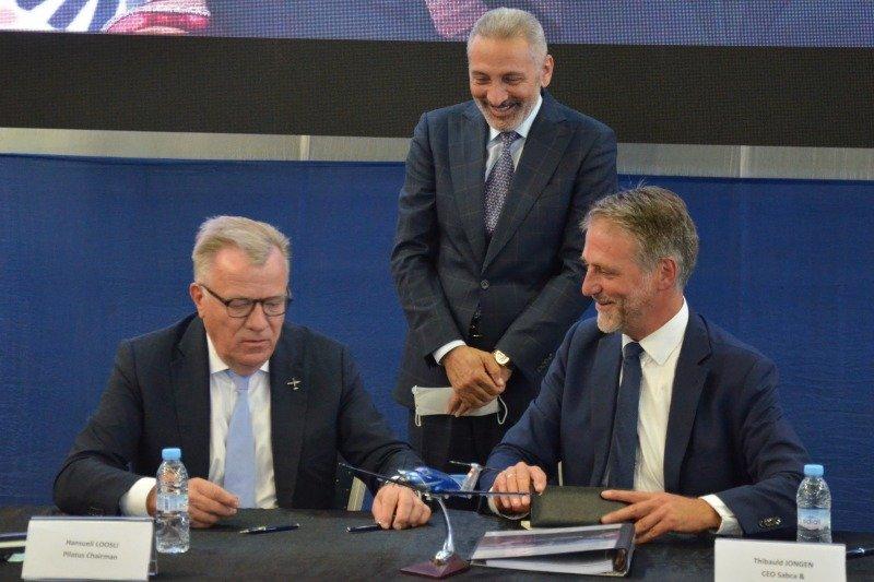 Partenariat entre Pilatus et Sabca pour le montage à Casablanca des aérostructures de l'aéronef PC-12