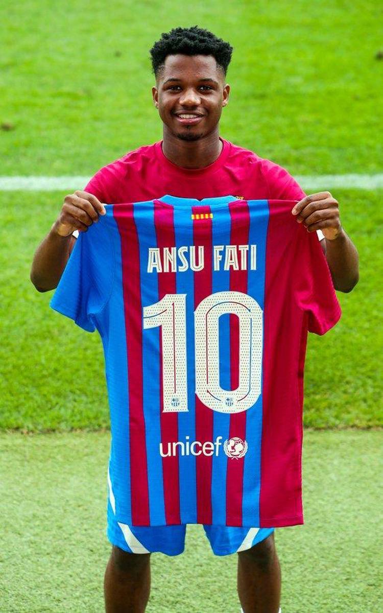 Barça : Le N°10 attribué au jeune Ansu Fati