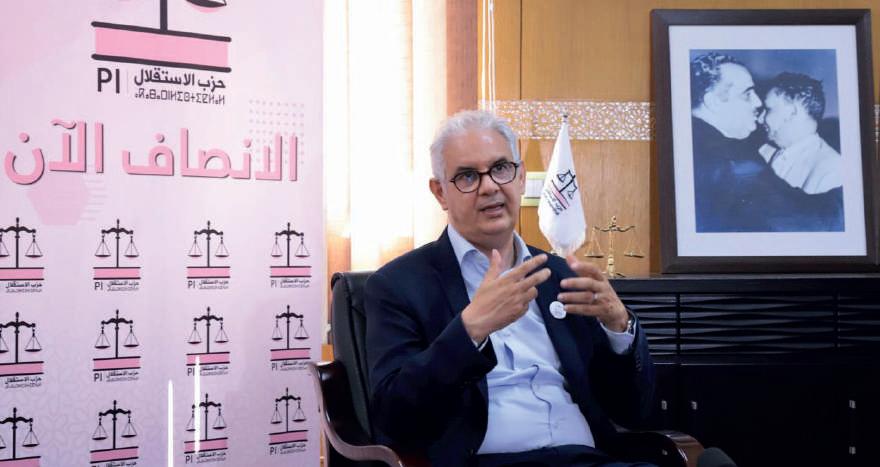 Nizar Baraka: « Il est temps pour une répartition équitable des sacrifices »