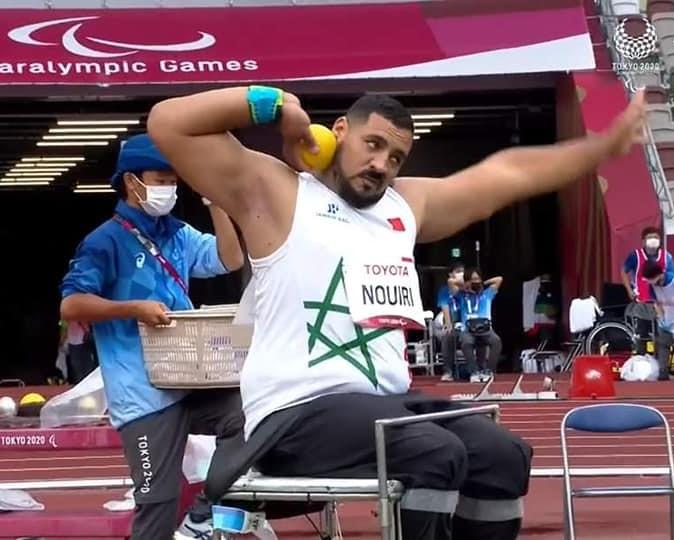 Paralympiques / Lancer du poids : Azeddine Nouiri décroche une médaille d'argent