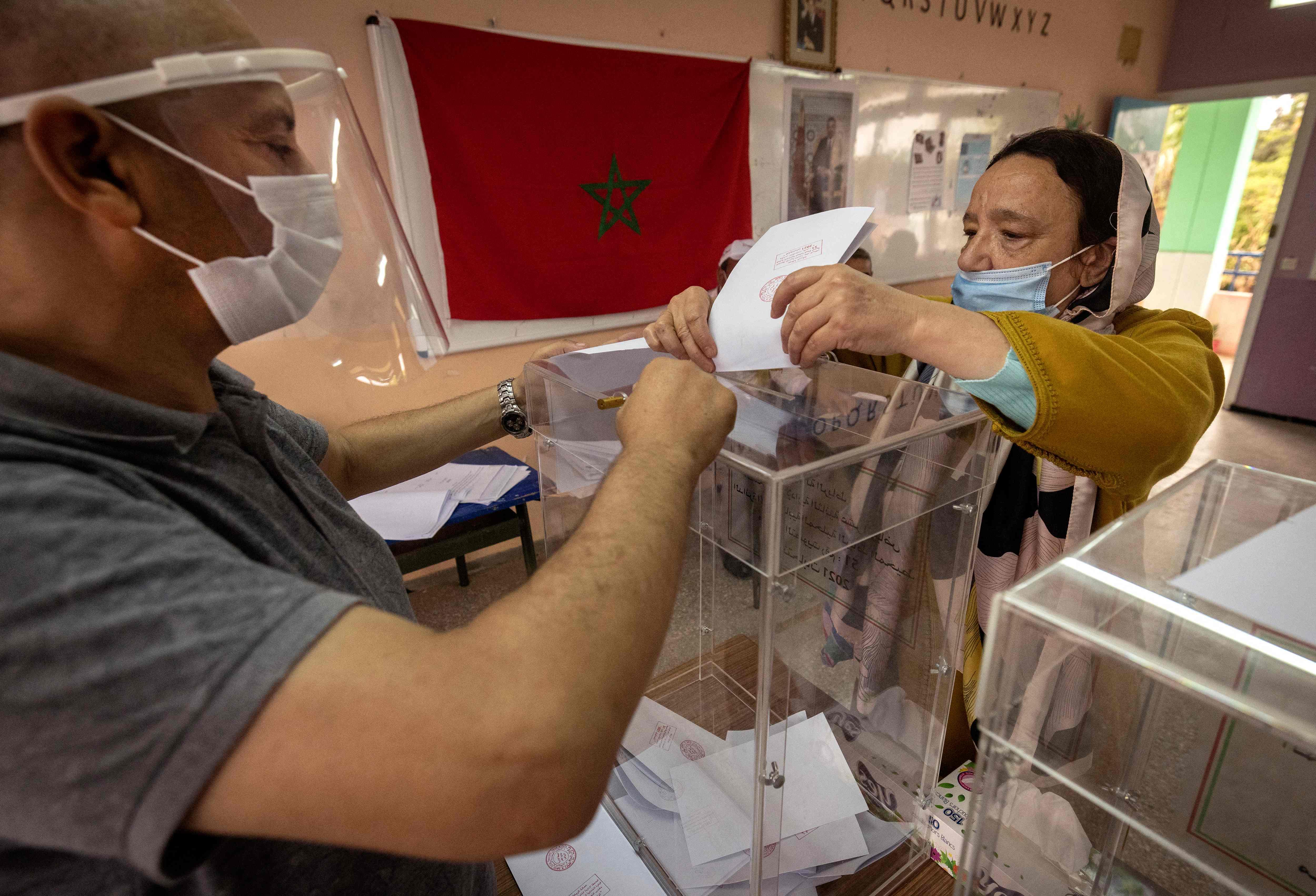 Elections à Rabat (FADEL SENNA / AFP)