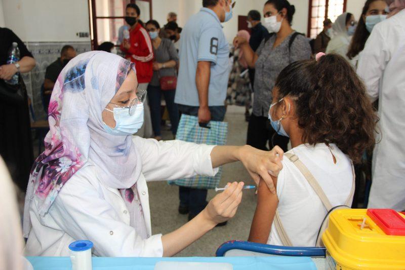 La vaccination des 12 à 17 : Plus d'un million d'élèves ont reçu la première dose