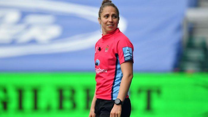 Rugby : Sara Cox première femme arbitre en championnat masculin anglais
