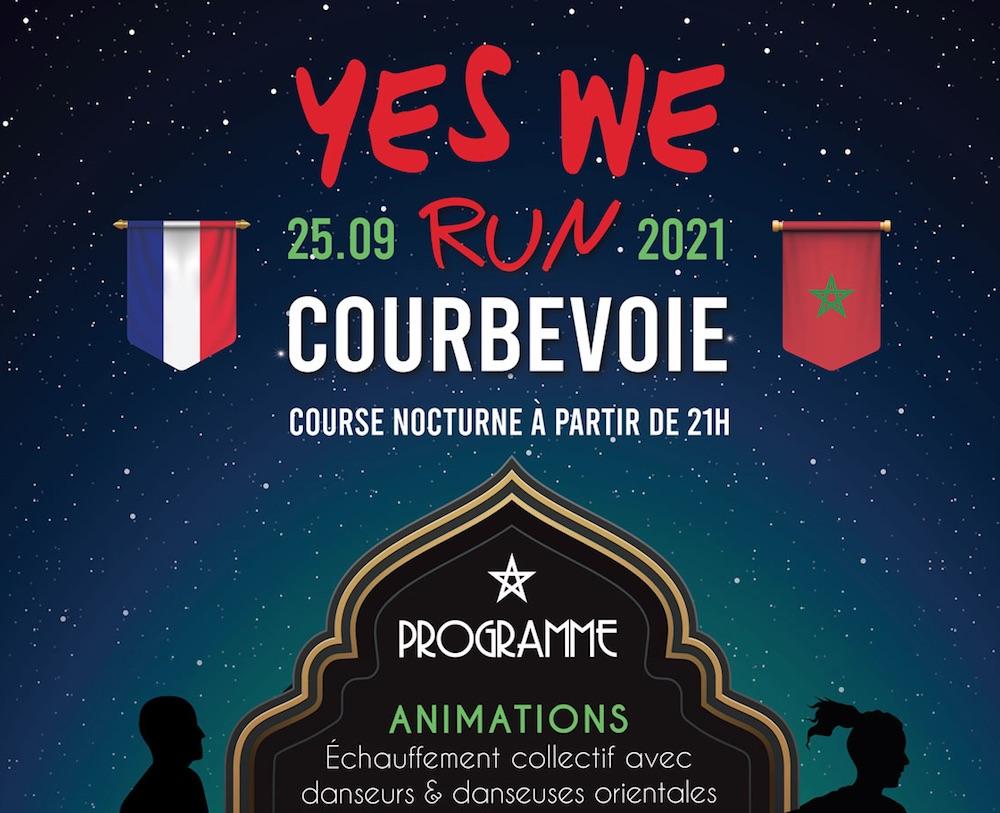"""Course annuelle """"Yes We Run"""" de Courbevoie : Le Maroc à l'honneur à la 3ème édition"""