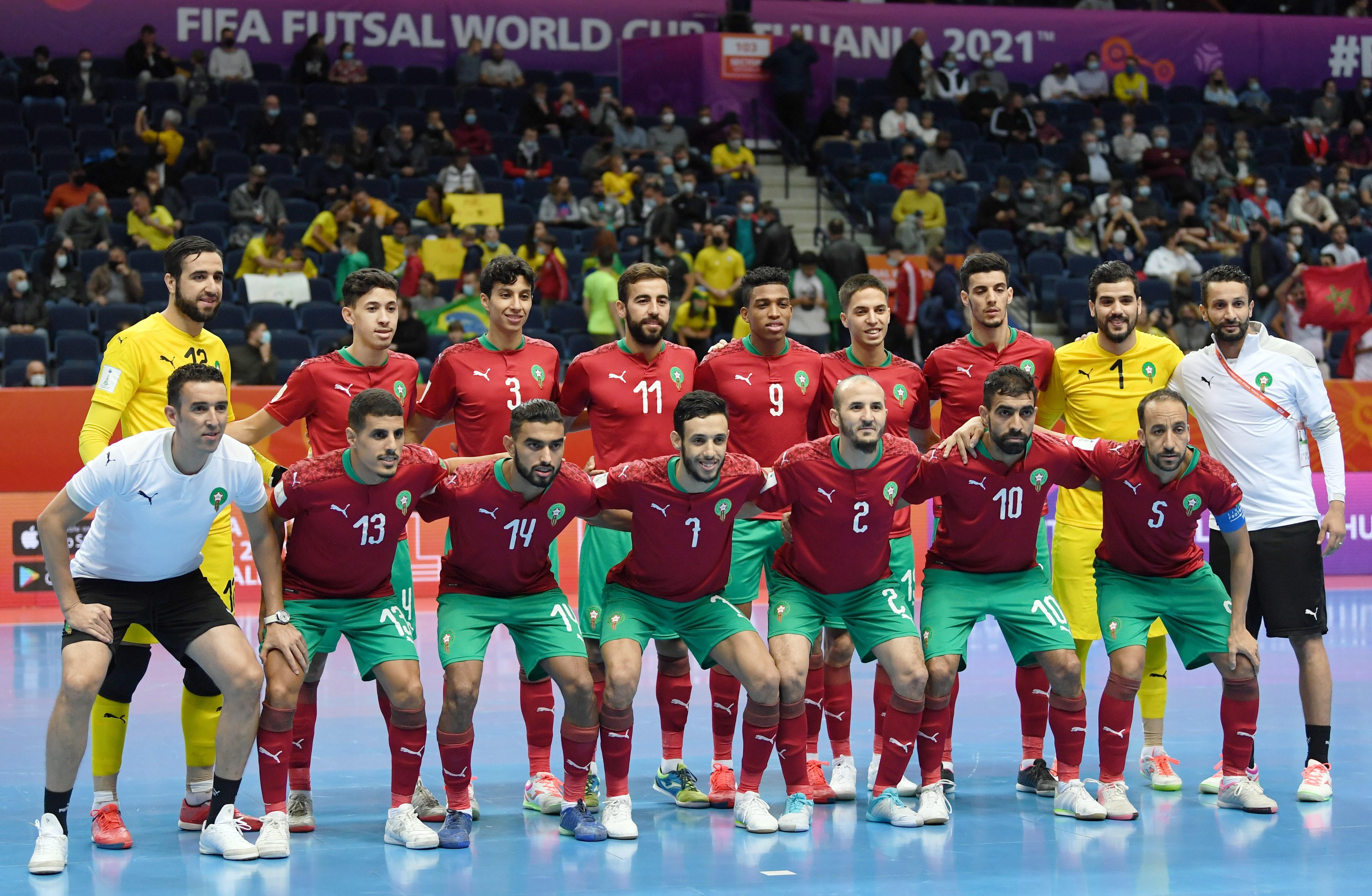 Mondial Futsal 2021: Le Maroc quitte la compétition la tête haute