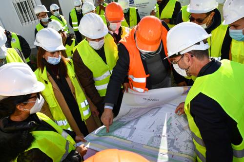 Maroc-US : Un taux d'avancement d'environ 34% des travaux de construction de l'IPMLI