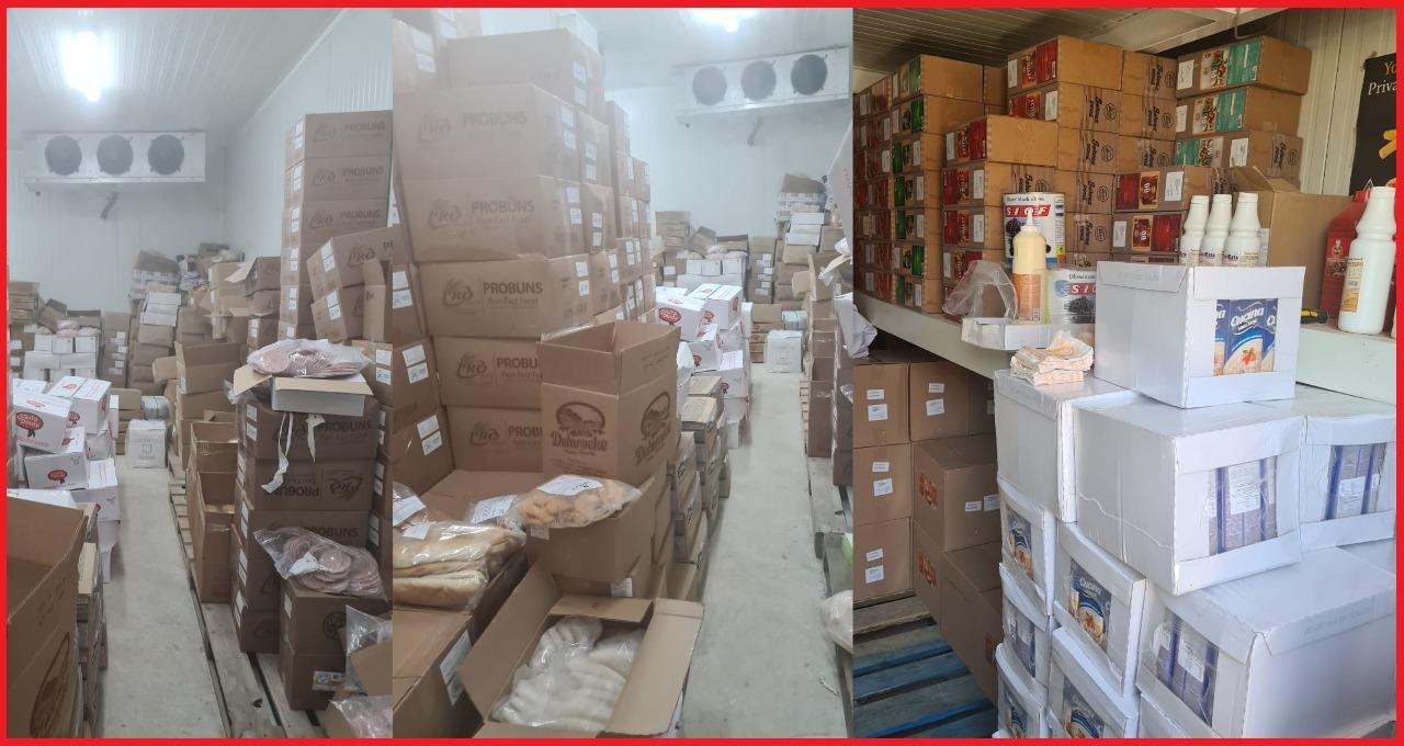 Sauces tacos, charcuteries, fromages...près de 3 tonnes de produits périmés saisis à Oujda