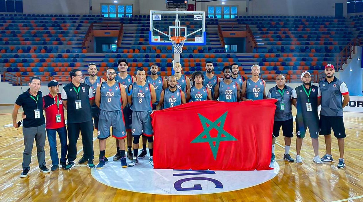 Coupe arabe de Basket-ball: Le FUS en quart de finale