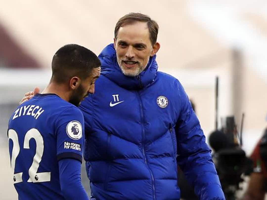 Football / Tuchel, entraineur de Chelsea : « Hakim n'est pas dans sa meilleure forme ! »