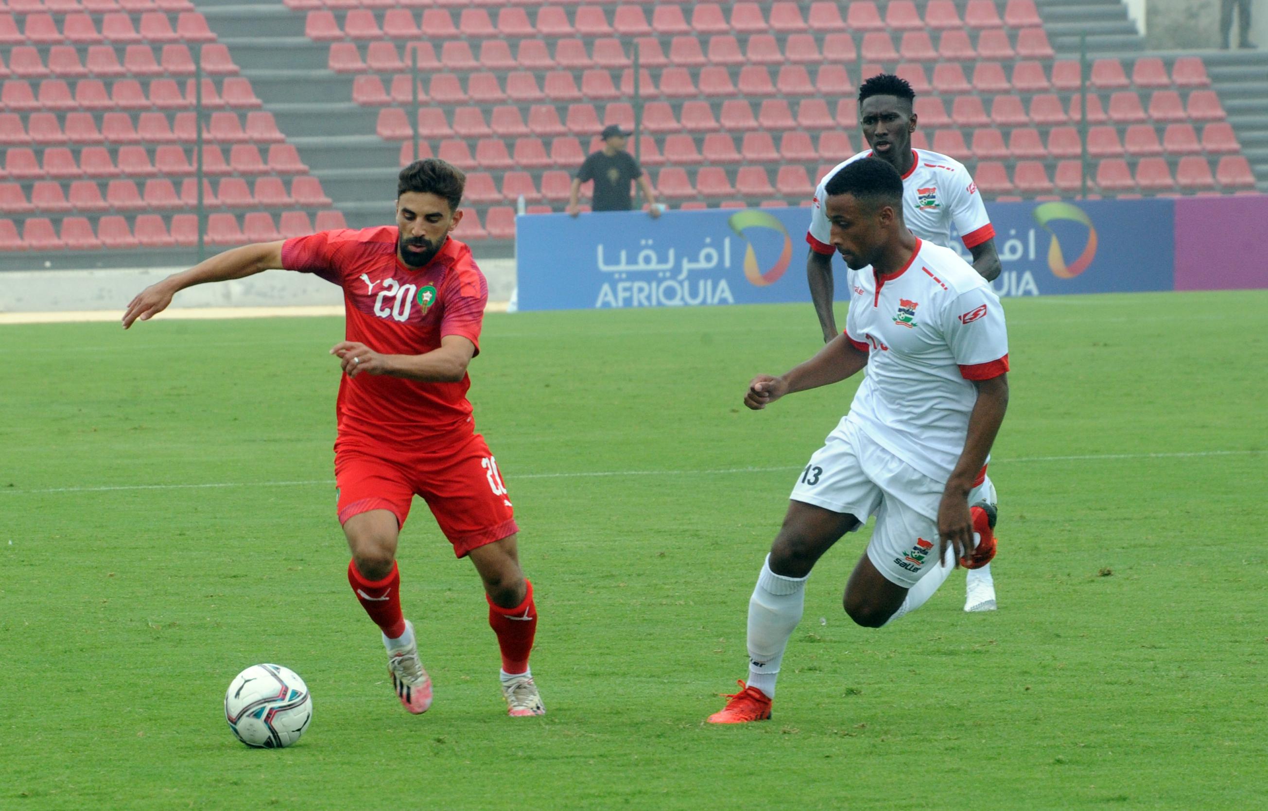 Match de préparation de l'équipe nationale A' : Le Maroc est hyper-offensif face à la Gambie (7-2)