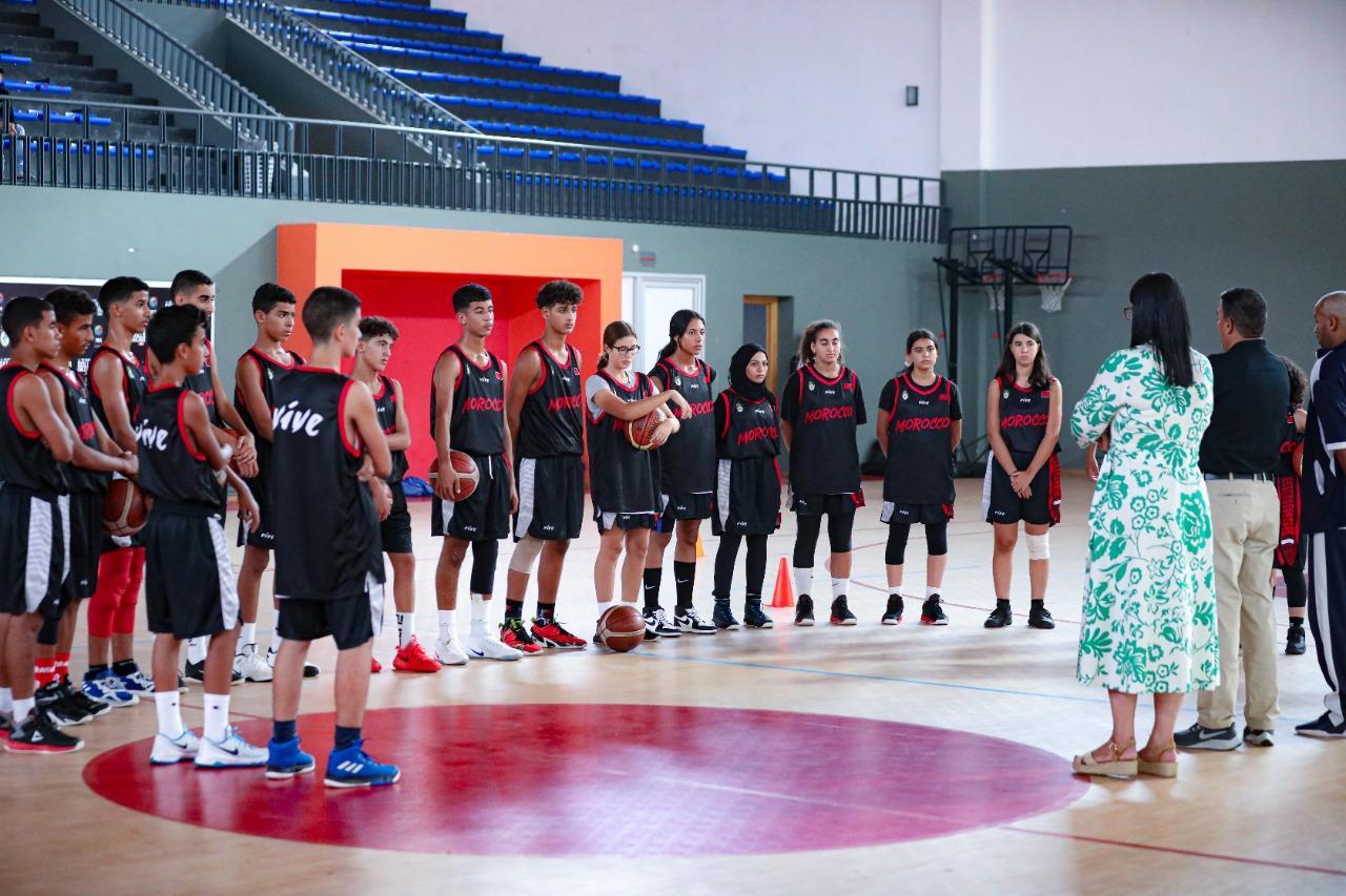 FIBA U15 Skills Challenge: La sélection nationale en stage de préparation
