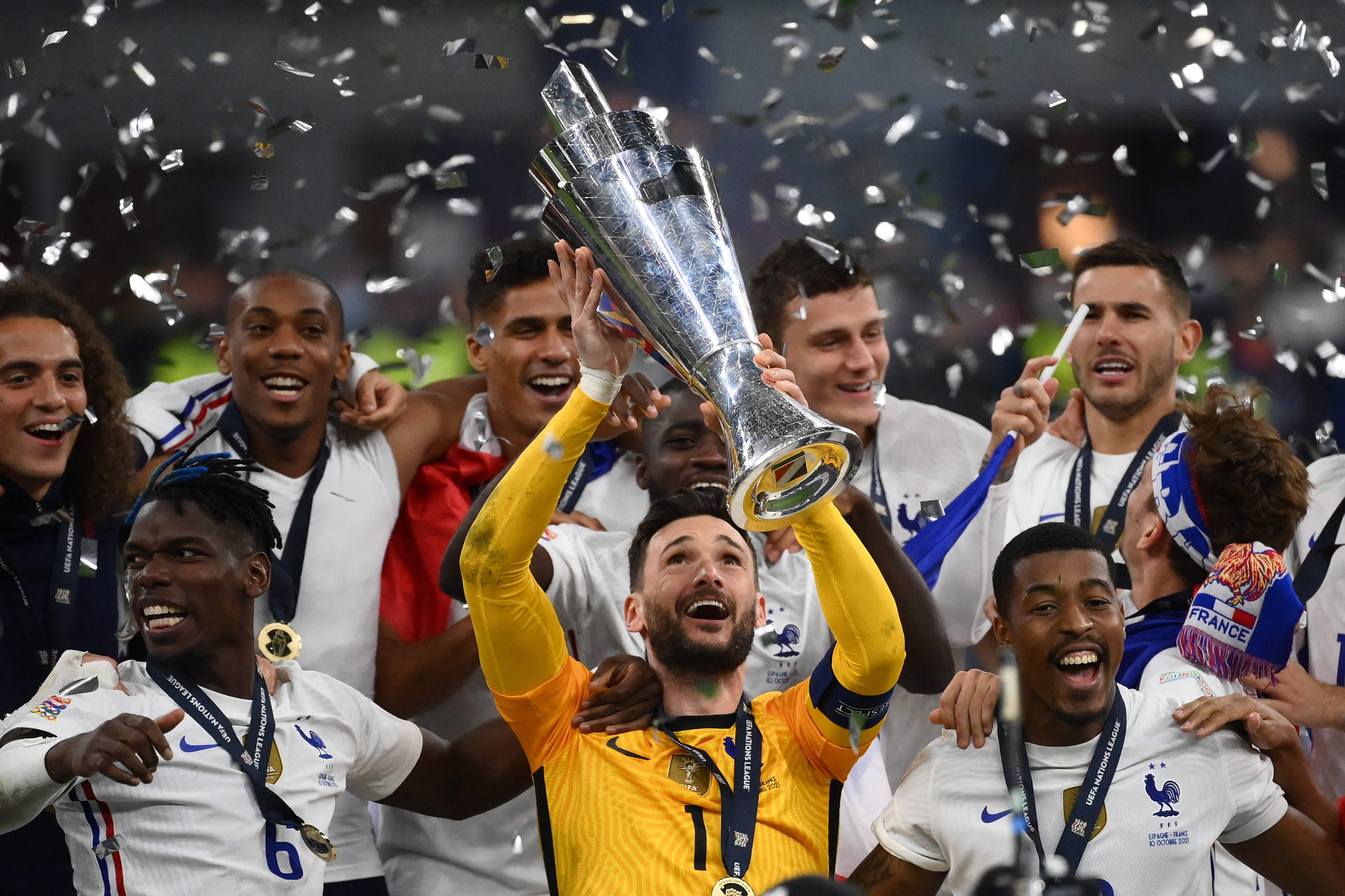 Finale de la Ligue des Nations : La France championne après avoir renversé l'Espagne