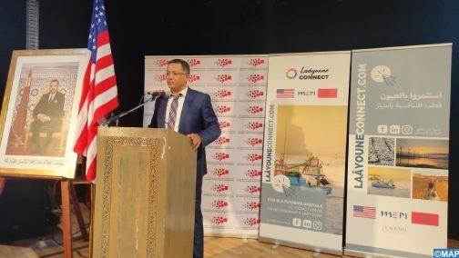 Laâyoune : Soutien US pour une plateforme digitale de marketing