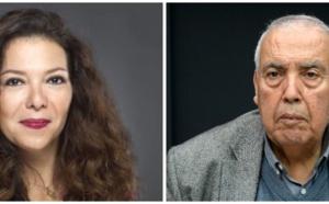 Neila Tazi et Abdelkader Retnani respectivement présidente et vice-président de la Fédération des Industries Culturelles et Créatives.