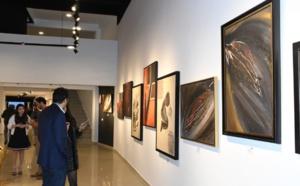Casablanca, des plasticiens marocains et africains participent à une exposition d'art collective