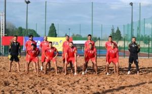 Beach soccer: L'équipe nationale en stage de préparation à Maâmora