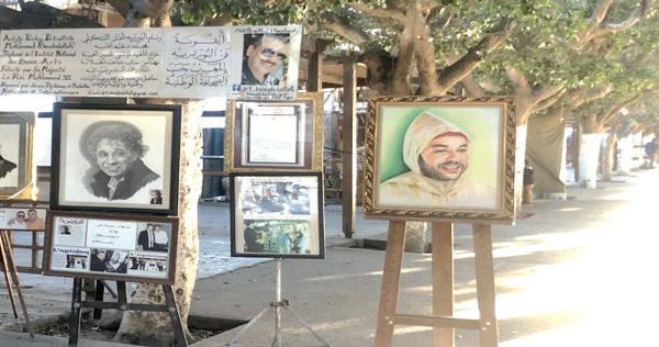 Les peintres de l'avenue Mansour Eddahbi ont le blues