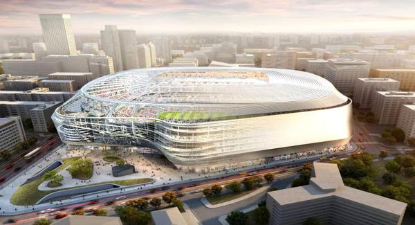 Reportage : Transformation du stade Bernabeu