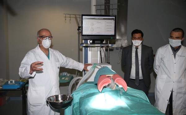 Casablanca: présentation d'un prototype de respirateur artificiel 100% marocain