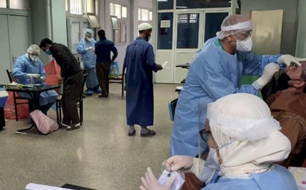 Tanger : Opération de dépistage au profit des pêcheurs