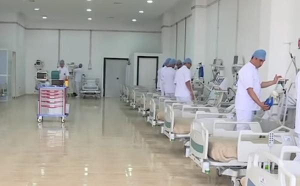 Agadir : mise en place d'un hôpital de campagne dédié aux patients Covid-19