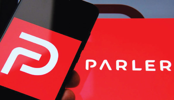 L'application « Parler » suspendue de Google, Apple et Amazon