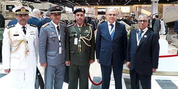 Participation du Maroc à la Conférence internationale de défense 2021 d'Abu Dhabi