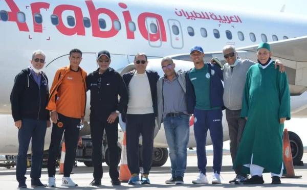 Une belle initiative :  Ce dimanche, le Raja a rejoint la RSB à Agadir pour rejoindre ensemble l'Afrique orientale
