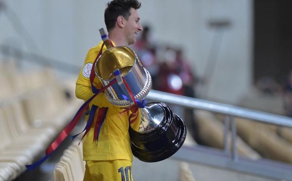 Coupe d'Espagne: Messi offre son 31ème sacre au Barça