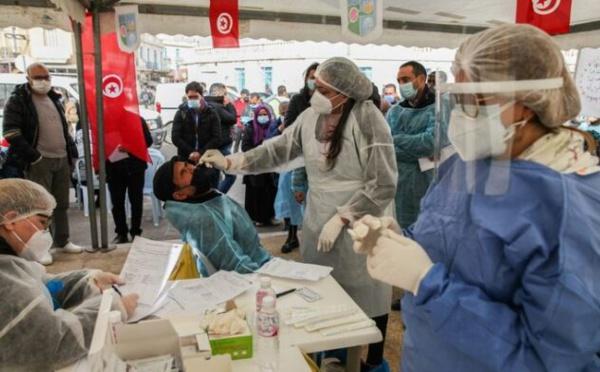 Tunisie : Le nombre de contaminations passe au rouge