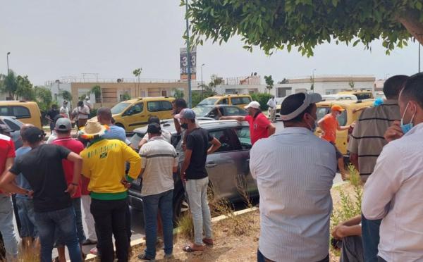 Kénitra : Les taximen aggravent la crise de mobilité