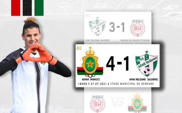 Ligue des Champions féminine :  L'AS FAR largement vainqueur face aux Algériennes (4-1)