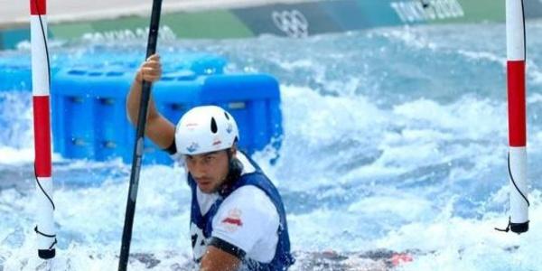 JO de Tokyo 2020 (Canoë slalom) : Une lueur d'espoir, Soudi Mathis se qualifie pour les demi-finales