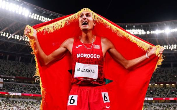 JO-2020: Soufiane El Bakkali champion olympique du 3000 m steeple