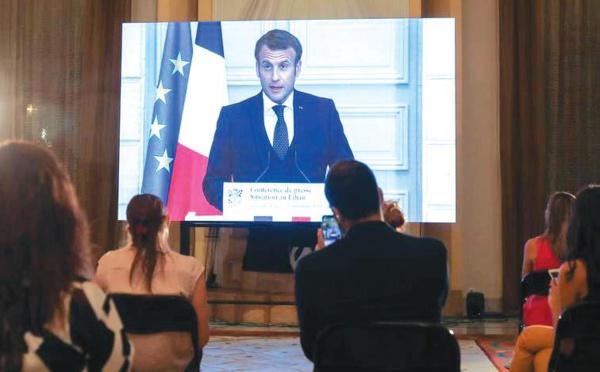 Liban : Macron fait la quête