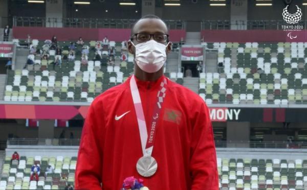 Paralympiques (400m / T13): Mohamed Amgoun médaillé d'argent