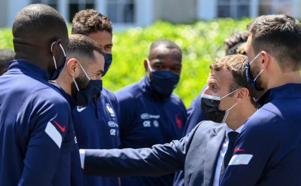 Football : Macron aurait fait pression pour le rappel de Benzema en équipe de France !?