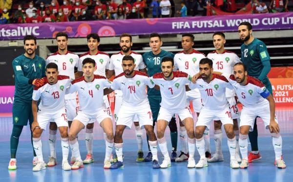 Futsal: Le Maroc 14ème mondial