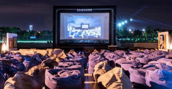 Soirées cinéma au grand air à Salé