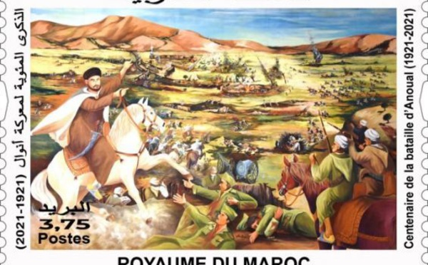 """Un timbre commémorant la bataille d'Anoual """"gêne"""" des militaires espagnols"""
