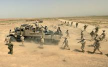 2ème salve de missiles contre la base de Tajji