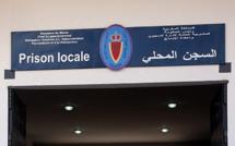 Désinfection de la prison locale de Khénifra