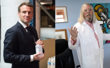 Soutien inconditionnel de Macron à Raoult