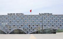 Désinfection de la gare du TGV à Kénitra