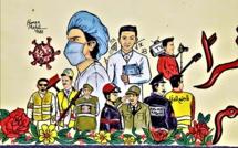 Quand le street art s'empare du coronavirus