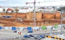Rabat : construction d'une trémie au centre-ville