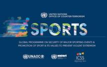 ONU: Lancement d'un programme de promotion du sport comme outil de prévention de l'extrémisme violent