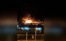Casablanca : Énorme explosion dans un dépôt de stockage à Sidi Bernoussi