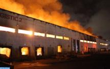 Casablanca : Un dépôt de bus de transport urbain hors d'usage ravagé par un incendie