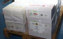 Rabat : Arrivée  d'une première livraison du vaccin anti-Covid-19